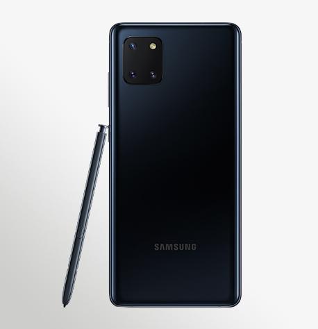 טלפון סלולרי Samsung Galaxy Note 10 Lite - סמסונג גלקסי Samsung Galaxy Note 10 Lite Back Pen Aura black