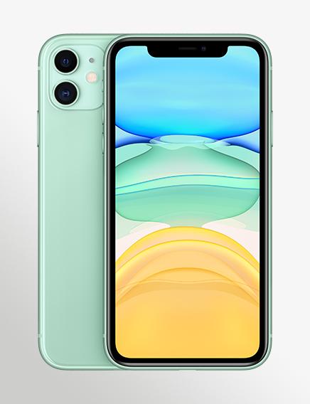 Iphone 11 Green 2 Up Vertical US EN SCREEN