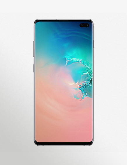 Image Product Key Visual Beyond S10+ Product Image White 181211 Sm G975 Galaxys10+ Front White 181210 RGB