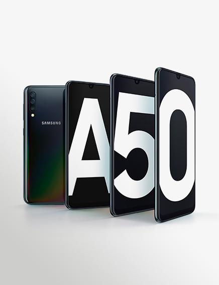 Galaxy A50 Product KV Black 1P2