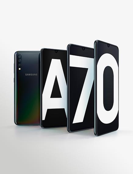 Galaxy A70 Product KV Black 1P1