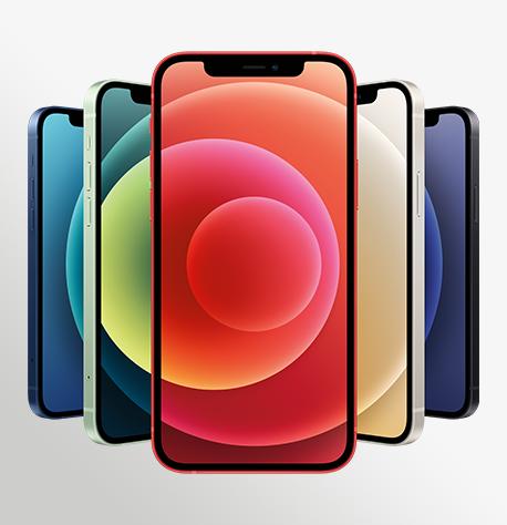 Iphone 12 Hero 5 Up RED Print WWEN