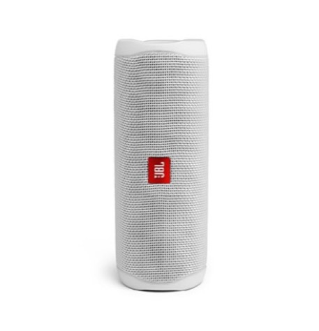 רמקול בלוטוס JBL Flip5 Product Photo Hero Steel White