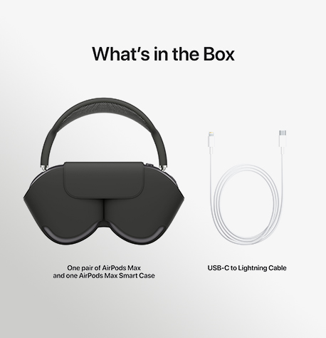 Airpods Max Space Gray PDP Image Position 7 WW EN אוזניות אלחוטיות