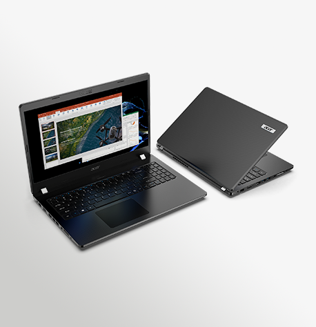 Acer Travelmate P2 TMP215 52 52G P50 52 Special Angle 3D Render 02