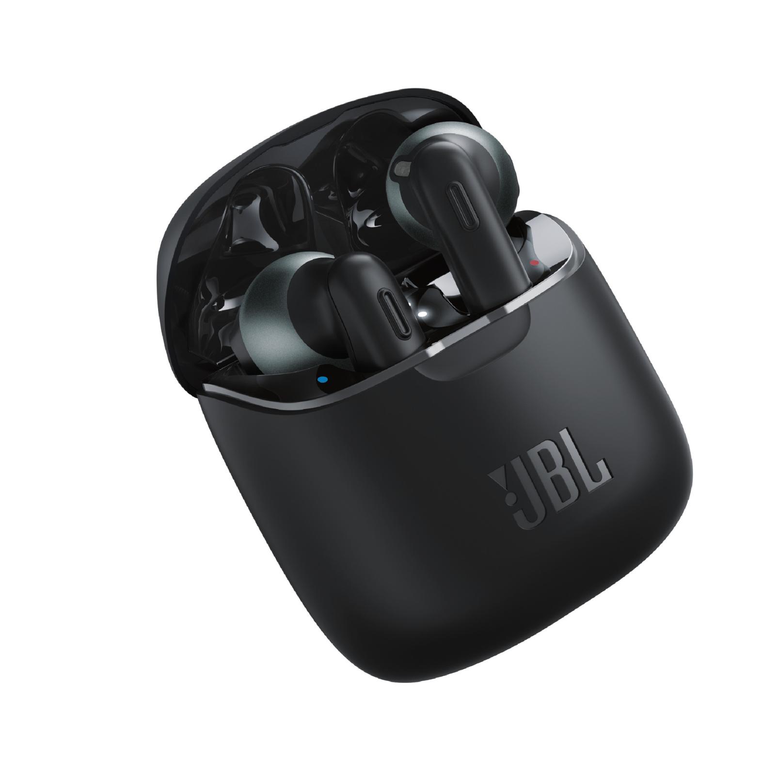 אוזניות אלחוטיות JBL T220 TWS Black RENDER
