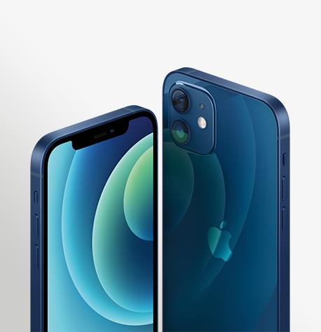 Iphone 12 Blue Hero 2 Up Cropped Print USEN