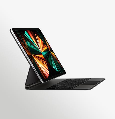 Ipad Pro 12 9 In Silver Black Magic Keyboard 14FL Type Mode Screen USEN