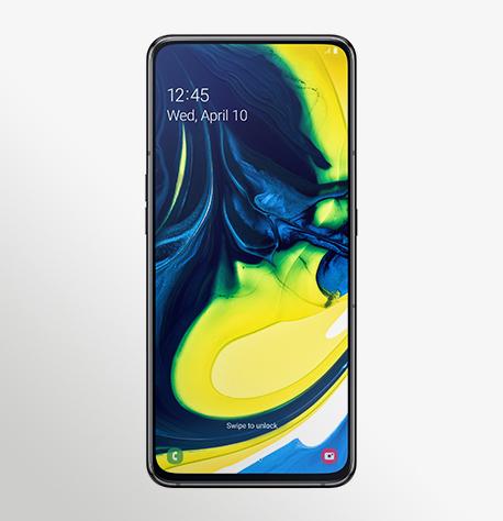 טלפון סלולרי Samsung Galaxy A80 - סמסונג גלקסי Samsung Galaxy A80 Front