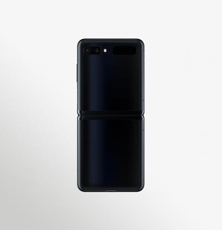 Sm F700f Galaxy Z Flip Open Back Black Mirror 191224 (1)