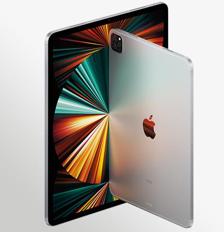 Ipad Pro Family Cellular Silver 2 Up Hero Print USEN