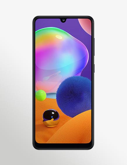 SM 315 Galaxy A31 Black Front (1)
