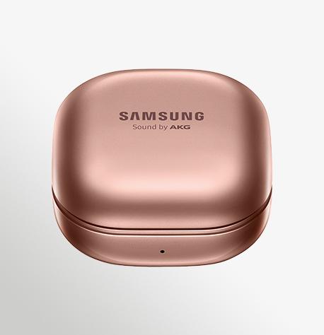 אוזניות אלחוטיות Samsung Galaxy Buds Live  Case Front Mystic Bronze
