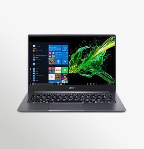 Acer Swift 3 SF314 57 Wp Win10 Gray 01 Backlit (2)