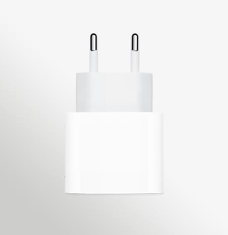 20W USB C Power Adapter Front EU SCREEN