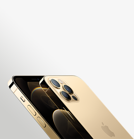 Iphone 12 Pro Gold Hero 2 Up Lean Cropped Print USEN